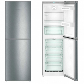 LIEBHERR CNEL4213 Frost Free Fridge Freezer ~ Stainless Steel